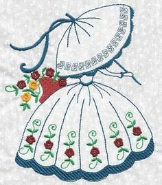 Billedresultat for sue southern belle patterns Hand Embroidery Videos, Hand Embroidery Patterns, Vintage Embroidery, Embroidery Applique, Embroidery Stitches, Quilt Patterns, Machine Embroidery, Embroidery Transfers, Applique Quilts