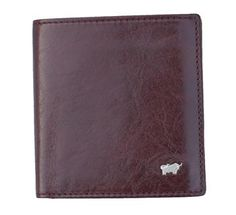 bffa33e1bf0d Braun Buffel mens lovely rich brown small leather wallet made from full  grain leather - stylish with classic German lines