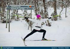 "Yoga Poses Around the World: ""Winter-Warrior, by Agneta E., in Tanndalen, Sweden"""