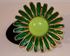 Vintage Weiss Brooch enamel flower by SVintageCollection on Etsy, $25.00