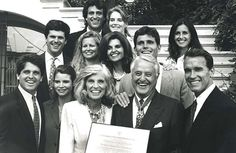 8/8/1994 Presidential Medal of Freedom was awarded to Sarge Shriver.  Sarge and Eunice Shriver with Arnold Schwarzenegger, Jeanne and Mark Shriver, Tim and Linda Shriver. Maria Shriver Schwarzenegger, Anthony and Alina Shriver and Bobby Shriver and friend