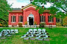 The Little Red Schoolhouse offers a unique setting for your next social party or business meeting.From its distinctive1873 architecture to the charm of its interior, it provides a memorable backdrop for a wedding, rehearsal dinner, anniversary party, birthday celebration, shower or family reunion. Bring your own refreshments