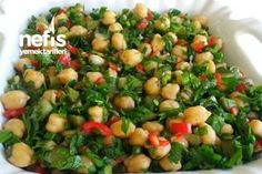 Kichererbsensalat Rezept – SALATALAR – …- Kichererbsensal… – Pratik Hızlı ve Kolay Yemek Tarifleri Salad Recipes, Diet Recipes, Healthy Recipes, Turkish Salad, Cherry Tomato Salad, Chickpea Salad, Salad Bar, Iftar, Turkish Recipes