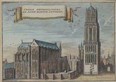 Online veilinghuis Catawiki: Utrecht P. Devel / A. Rademaker - 4 kopergravures - ca. 1700