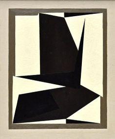 """Xingou"" de 1950 par Victor Vasarely"