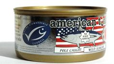 American Tuna MSC Certified Sustainably Caught Albacore Tuna, 6oz Can w/ No-Salt Added, Caught & Canned in America (6 Pack) American Tuna MSC Certified Sustainably Caught Albacore Tuna, 6oz Can w/ No-Salt Added, Caught & Canned in America (6 Pack) http://www.amazon.com/dp/B003IWV3U8/ref=cm_sw_r_pi_dp_gwcVtb0M60HJJZVX