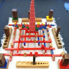 Power of Ten! Montessori Sensorial Materials