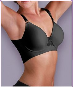 Unbelievabra: Tankee Short.  This bra eliminates 'back bulges'. This particular one is for sleeveless T's.  The Ultimate or Shortee style is for tops with sleeves.  Haven't tried this yet, but I'm gonna!