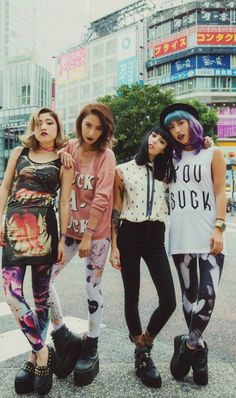 #Tokyo punk awesomeness... I really miss all the cool looking people in Tokyo. #fashion
