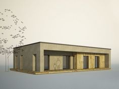 ORIGAMI - Poskládejte si svůj dům - varianta 3kk | Dřevostavby, časopis o bydlení - DřevoStavby