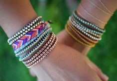 DIY bracelets + friendship bracelets