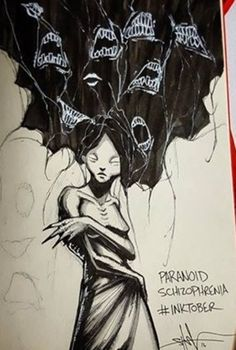 Every October, artists from all over the world take part in the InkTober sketching challenge by doing one ink drawing a day the whole month. Every year thousands of artists get involved with Inktober, where for Inktober, Sketches, Sketch Book, Illustration, Drawings, Dark Drawings, Art, Dark Art, Creepy Art