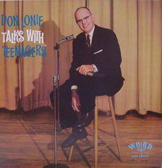 Talks with Teenagers — Don Lonie #vintage #vinyl #records