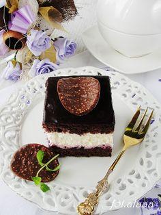 Ala piecze i gotuje: Ciasto śmietankowo porzeczkowe