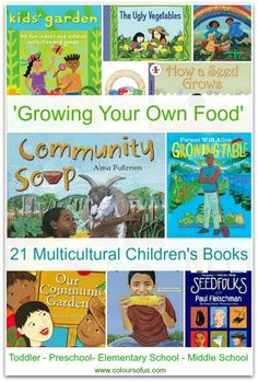 Multicultural Children's Books: Growing Your Own Food from @coloursofus
