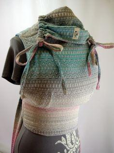 obimama didymos indio aurora custom wrap conversion mei tai