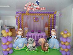 princesinha sofia decoração - Pesquisa Google