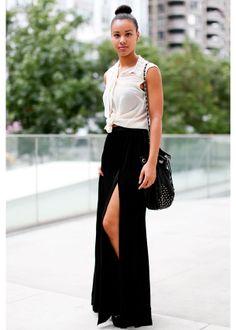 Ultra chic maxi skirt