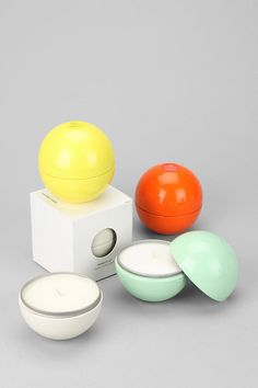 Mine Design Gumball Soy Candle