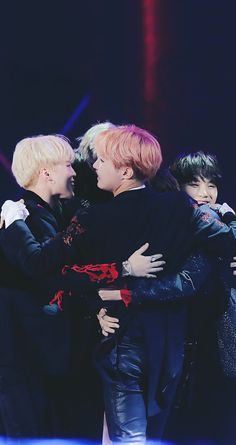 BTS | By far my favorite BTS moment. These boys deserve everything. They work so hard and are absolutely amazing.