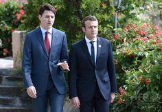 加仏首脳の「ブロマンス」にネット熱狂 シチリアで友情花咲く? 国際ニュース:AFPBB News