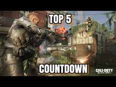 Top 5 Call of Duty Black Ops 3 Countdown