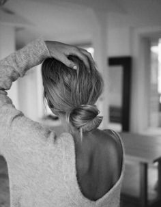 Chignon bun bas - Les plus jolis chignons bun de Pinterest - Elle