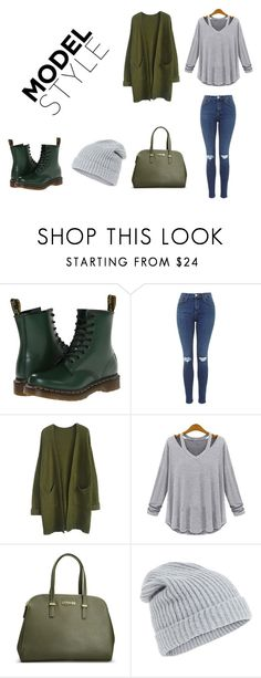 """""""How to wear martens"""" by adancetovic on Polyvore featuring Dr. Martens, Avenue and Accessorize"""