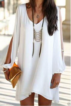 Robe de mousseline style soie