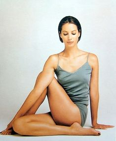 simple is beautiful. Christy Turlington #yoga