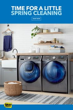 The Samsung High- Efficiency Front-Loading Washer features the AddWash door – the ultimate in convenience for forgotten dirty clothes. The Samsung High-Efficiency Electric Dryer with Steam removes wrinkles, odors and static. Get up to a $500 Visa Reward card by mail from Samsung with qualifying Samsung purchase. Offer valid 3/1/18—5/16/18.