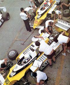 René Arnoux, Jean-Pierre Jabouille - Renault RS10B
