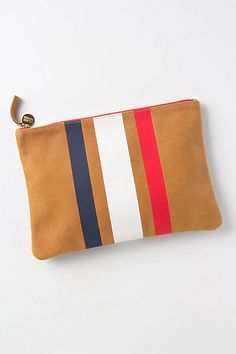 Striped Trinity Pouch #anthropologie - (mine.fb :-) )