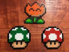 Super Mario World Perler by VoldareCreations on Etsy
