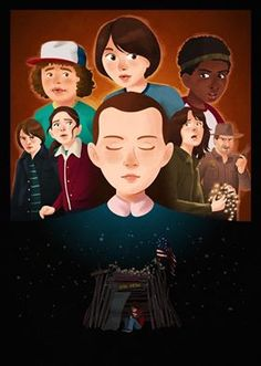 Fan Art Stranger Things