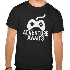 Kids Gamer Adventure Awaits Shirt.png