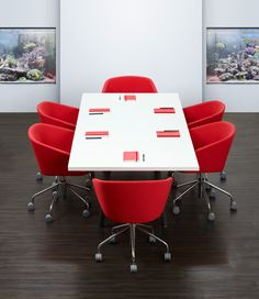 Best Meeting Images On Pinterest Conference Table Modern - Red conference table