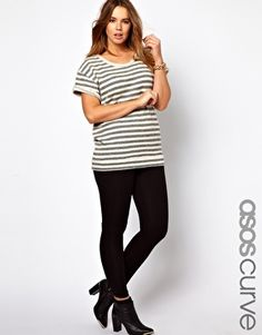 Image 1 of ASOS CURVE Exclusive Full Length Legging