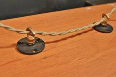 Industrial Wireway Hook - for hanging pendants, or securing cord to ceiling or wall by DWVintage on Etsy Swag Pendant Light, Industrial Light Fixtures, Industrial Lighting, Ceiling Hooks, Diy Home Security, Hanging Pendants, Vintage Lighting, Solid Brass, Lights