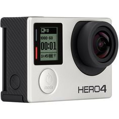 GoPro HERO4 Silver ($400) ❤ liked on Polyvore featuring men's fashion, men's accessories and billabong