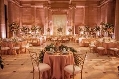 The dinner reception is ready for guests. #mccallsfloral #asianartmuseum