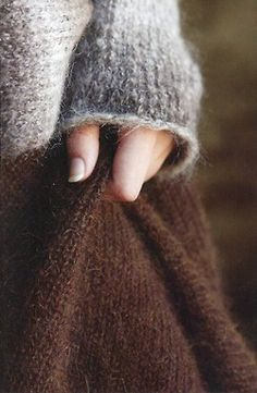I can imagine a soft, large sweater and a soft, brown skirt. maybe some long and knitted socks to go with it? Wooly Bully, Angora, Brown Dress, Mode Inspiration, Warm And Cozy, Stay Warm, Brown And Grey, Tweed, Knitted Hats