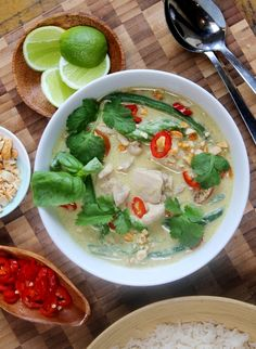 Easy Thai chicken curry recipe