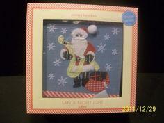 Pottery Barn Kids DEAR SANTA Christmas Nightlight Light Friends Sleigh Bed NEW #PotteryBarnKids