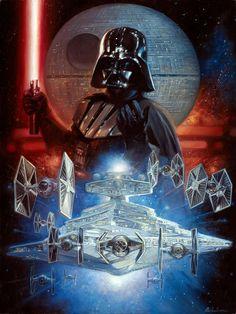 Star Wars - Darth Vader by Leo Leibelman