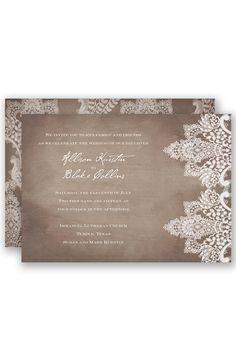 Country Celebration Wedding Invitation By David S Bridal Wedding