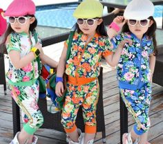 floral track suit from kidscelebritystyle on Storenvy
