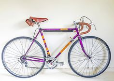 Freddie Grubb Galibier vintage bike made by Holdsworth in the early 70's, which used the Freddie Grubb brand until around 1978.