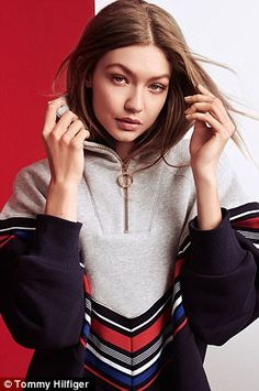 'I've known Gigi and her family for years, and it has been amazing to watch her grow into one of the world's top models and most-followed fashion influencers,' Hilfiger said