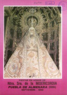 Fiestas en honor de la Virgen de la Misericordia en Puebla de Almenara (Cuenca). Del 6 al 11 de septiembre de 1989. #Fiestaspopulares #PuebladeAlmenara #Cuenca